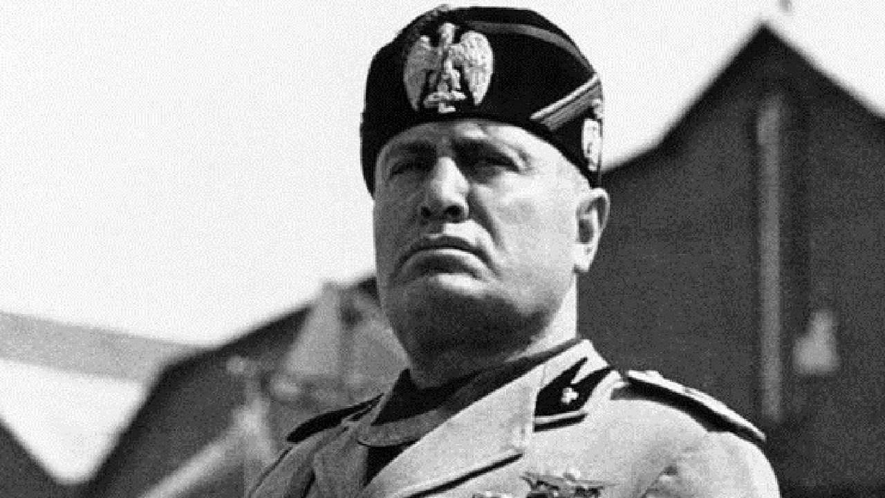 Fotografia de Benito Mussolini